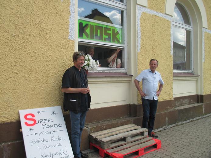 Tone Schmid, Künstlersymposium Nordgautag 2018, Susanne Neumanns Kiosk