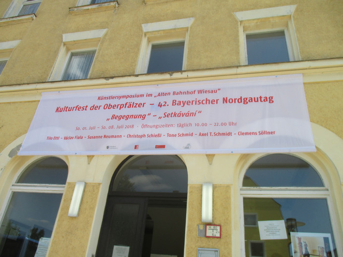 Tone Schmid, Künstlersymposium Nordgautag 2018