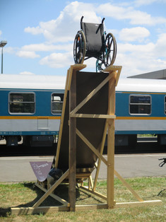 """Sprungschanze/Chance"" zum Thema: barrierefreier Bahnhof"