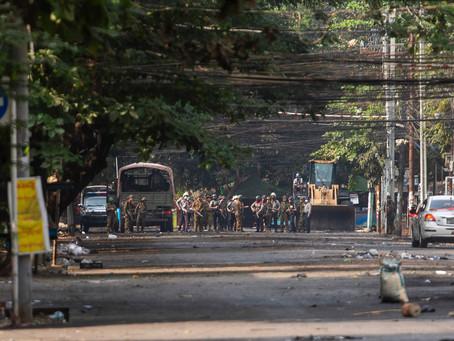 Жестокие репрессии провоцируют исход южнокорейцев из Мьянмы
