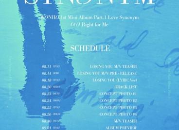 Вонхо из MONSTA X выпустит предрелизную песню «LOSING YOU»