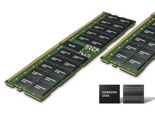 Samsung Electronics запускает массовое производство 14-нанометрового модуля памяти EUV DDR5 DRAM