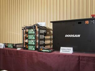 Doosan Infracore выпускает прототип аккумуляторных батарей для строительной техники