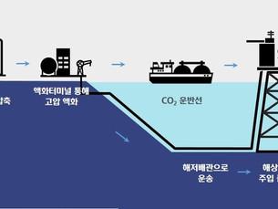 Hyundai Heavy разрабатывает морскую платформу для хранения углекислого газа