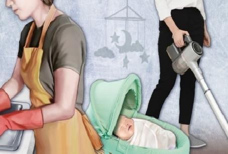 Сеульские женщины тратят на работу по дому почти в четыре раза дольше, чем мужчины: отчет
