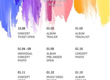 Группа JBJ планирует выпустить вторую мини-пластинку 17 января 2018 года, а в феврале устроит сольны