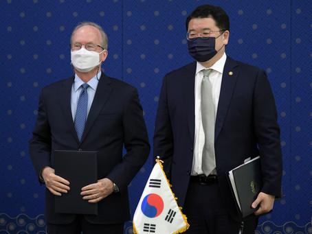 Южная Корея и США подписали соглашение о разделении расходов на оборону