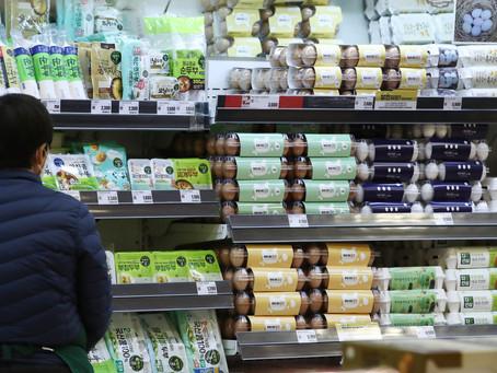 Южная Корея импортирует больше яиц в этом месяце для стабилизации цен