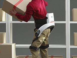 LG Electronics представит экзоскелетный рабочий костюм