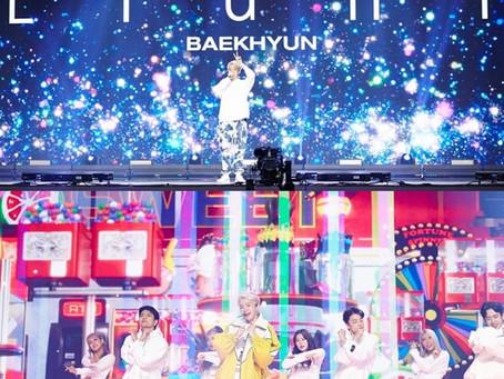 EXO Бэкхён провел свой первый сольный концерт онлайн