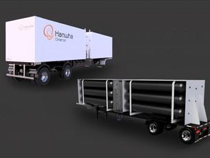 Hanwha Solution будет поставлять в США полуприцепы-контейнеры для перевозки СПГ