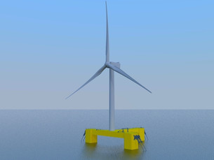 Samsung Heavy получает одобрение на свою плавучую платформу для морских ветрогенераторов