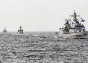 Китайские военные корабли показывают повышенную активность в районе Корейского полуострова: депутат