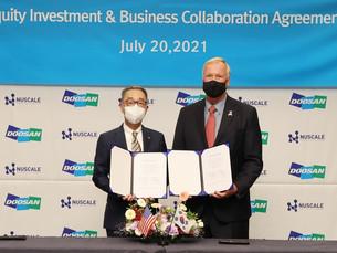 Doosan Heavy увеличивает свою инвестицию в американскую фирму NuScale Power