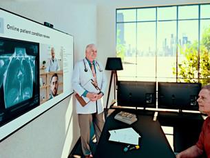 LG Electronics представляет облачное решение для удаленного здравоохранения