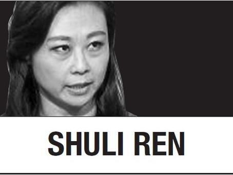 [Шули Рен] Китай показывает Ма, на что способен активист