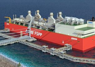 Daewoo Shipbuilding получила одобрение на плавучий объект, подающий СПГ и электроэнергию к берегам