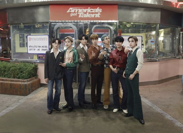 BTS исполнили Dynamite на America's Got Talent