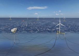 Samsung Heavy разработает «поплавки» для морских ветряных турбин