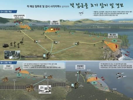 Южная Корея разработает датчик пограничного контроля, детектирующий вибрацию грунта