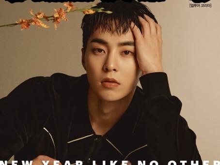 EXO Сюмин представил фотобук для журнала ALLURE KOREA