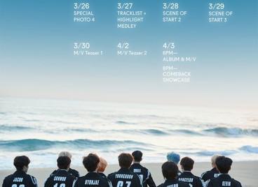 3 апреля THE BOYZ выпустит 2-ую мини-пластинку THE START
