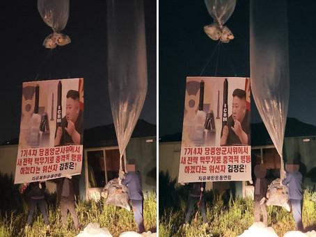 Перебежчик из КНДР собирается подать жалобу на запрет на распространение антипхеньянских листовок