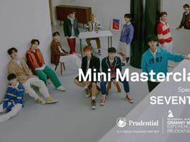 SEVENTEEN приняли участие в MINI MASTERCLASS, организованный американской GRAMMY MUSEUM