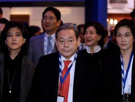 С 2014 года семье покойного председателя Samsung выплачено 2,7 млрд. долл. в виде дивиденда