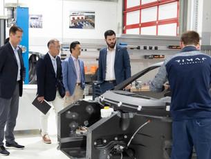 Hyundai инвестирует 89,23 млн. долл. США в хорватский Rimac для разработки электрических гиперкаров