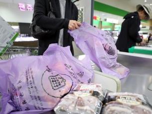 С 1 апреля в Южной Корее будут запрещены одноразовые пластиковые пакеты в крупных розничных сетях