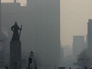 Южная Корея вновь подтверждает приток мелкой пыли из Китая