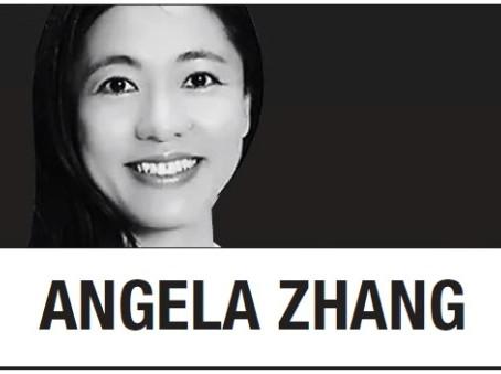 [Анджела Чжан] В Китае ведите себя прилично или примите участие в кампании