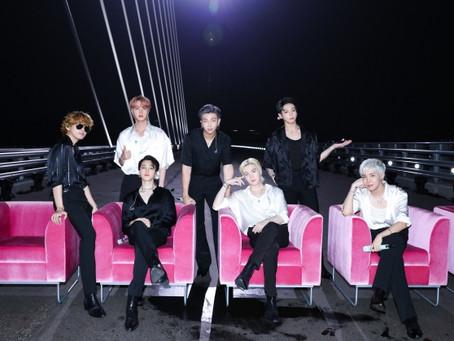 BTS украсили финал программы JIMMY FALLON SHOW с песней BUTTER