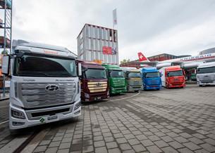 Hyundai поставила первую партию водородных грузовиков в Швейцарию