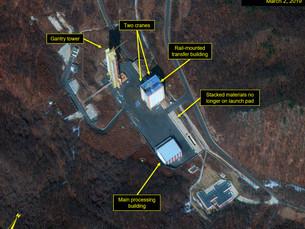 Признаки повторной сборки Северной Кореей части ракетного комплекса Дончан-ри