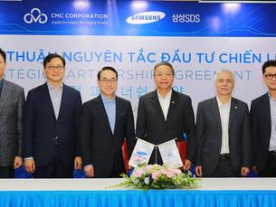 Samsung SDS купит 25% акций вьетнамской фирмы CMC