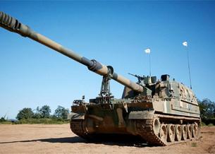 Самоходные гаубицы K9 от Hanwha Defense прибывают в Эстонию