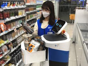 [Фотоновости] LG Electronics поставляет роботов в магазины