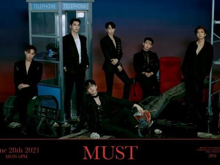 2PM представили фототизеры к предстоящему альбому