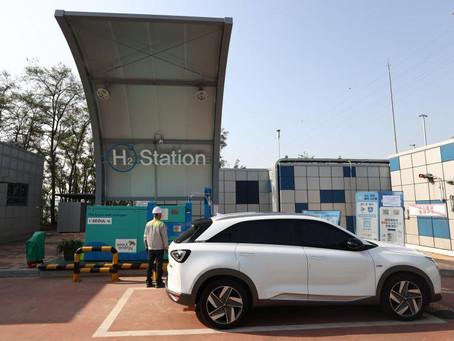 Южная Корея будет наращивать поддержку электромобилей и водородных автомобилей