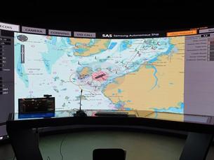 Samsung Heavy демонстрирует работу системы предотвращения столкновений для автономных морских судов