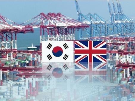 Соглашение о свободной торговле между Южной Кореей и Великобританией вступит в силу на этой неделе