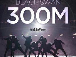 Музыкальный клип BTS «BLACK SWAN» набрал 300 млн. просмотров