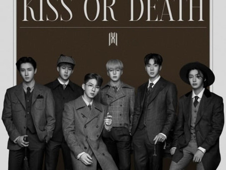 Сегодня MONSTA X представили новую песню KISS OR DEATH