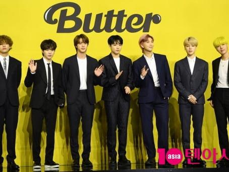 BTS возглавили японский ORICON со синглом BUTTER и выпустили сборник хитов