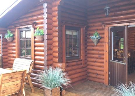 Hadrian's Log Cabin