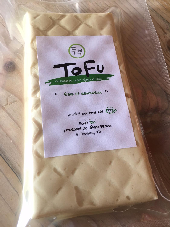 Tofu frais et savoureux