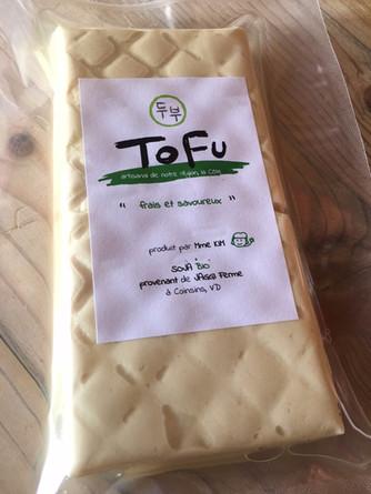 Gâteau au chocolat et au tofu frais