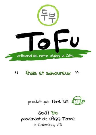 Tofu de terraSoja…à base de soja Suisse et cultivé dans la région!